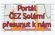 Zrušený portál ČEZ Solární